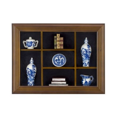 FRAMED PORCELANE MINIATURES