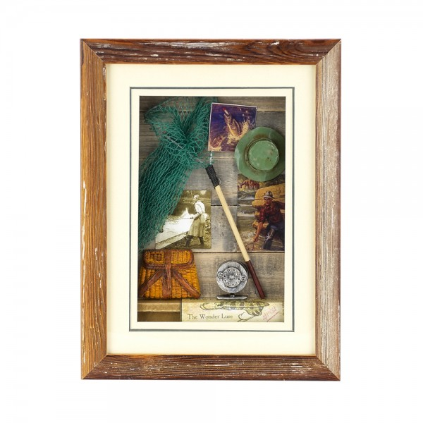 WOODEN FRAME WITH NAVY DETAILS YQA09